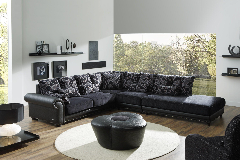 Sofa Grin Y Negro Muebles Bernardo Mu Oz # Muebles Bernardo